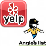 Yelp and Angie's List Logos
