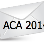 Envelope with ACA 2014 Written Over It