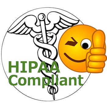 HIPAA Compliance Logo Parody