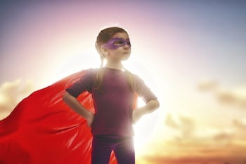 Kid Superhero
