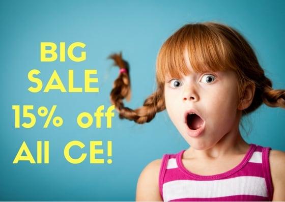 Kid Surprised By Big Sale