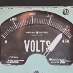 Old Timey Voltmeter