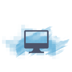 icon of computer monitor