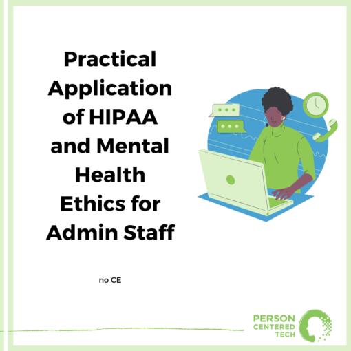 admin staff training for hipaa