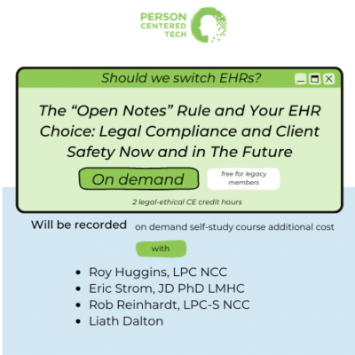 the open notes rule and your ehr
